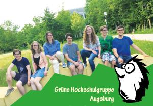 Mitglieder der grünen Hochschulgruppe 2015